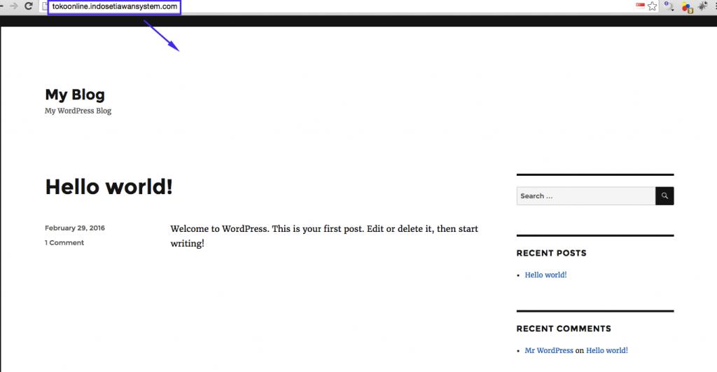 URL Website