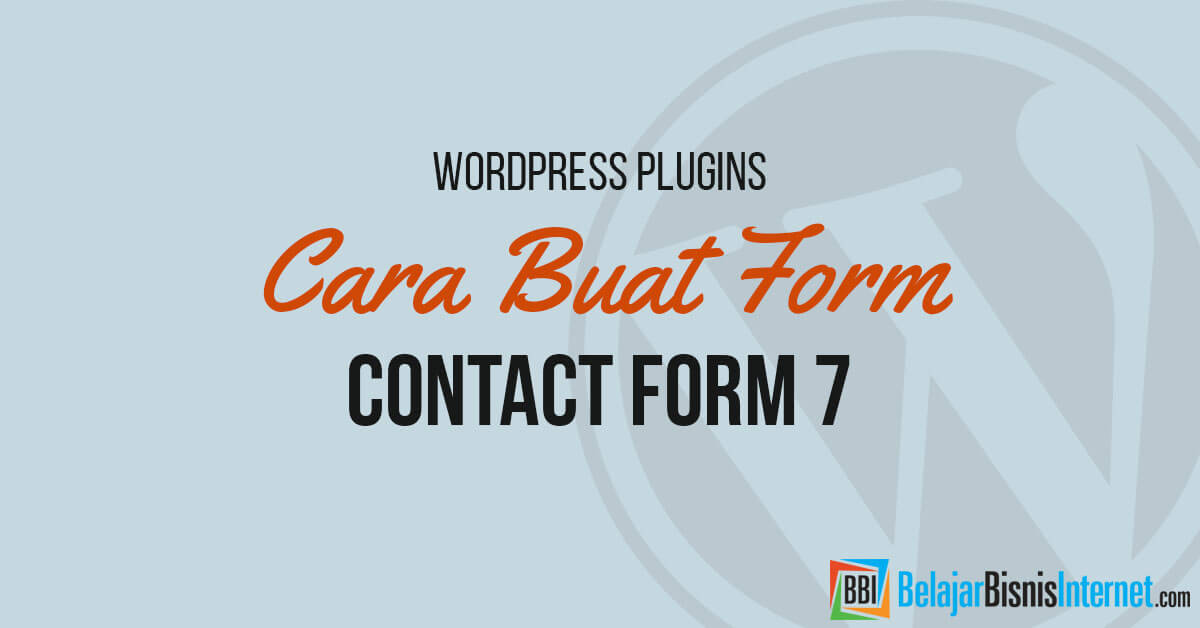 cara-buat-contact-form-7