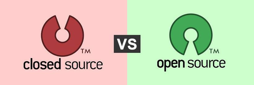 open source vs closed source essay Closed source vs open source software name of student institution a closed source software imposes a limit concerning consumer usability of.