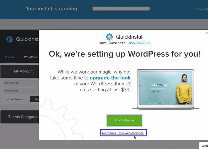 penawaran theme dari quick install