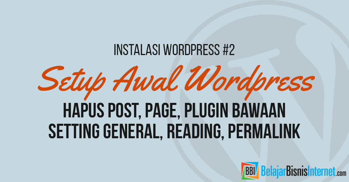 setup-awal-wordpress