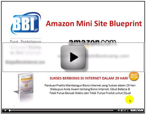 Video 1 - Workshop Amazon Mini Site Blueprint - BelajarBisnisInternet.com