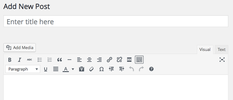wordpress-editor-standard