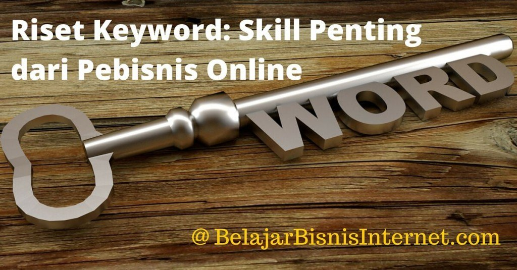 Riset Keyword Skill Penting