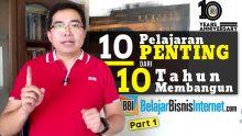 10 Pelajaran Penting dari 10 Tahun Membangun BBI
