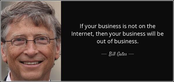 Bill Gates Internet Quotes