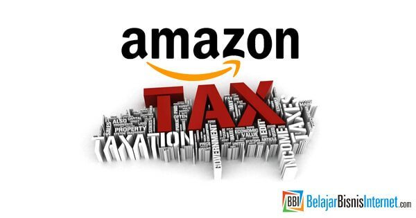 cara isi tax amazon