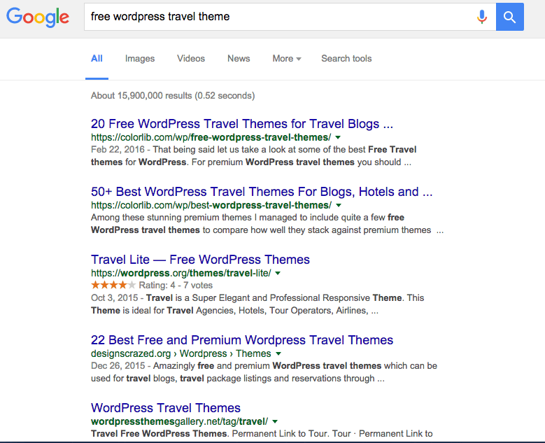 free-travel-theme-results