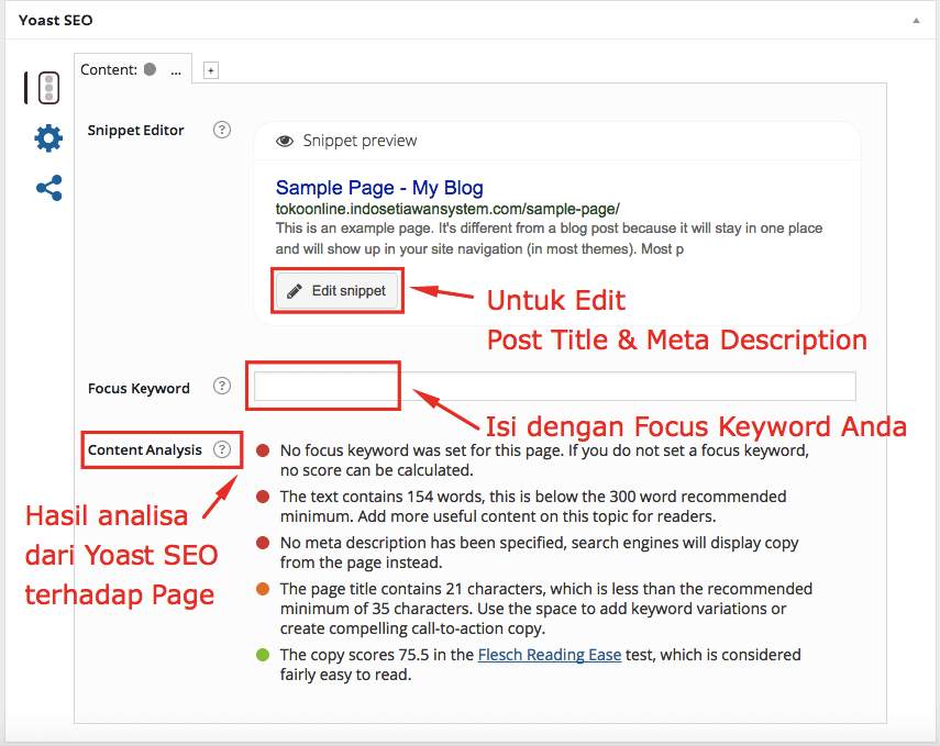 post title & meta description yoast seo