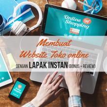 Membuat Website Toko Online dengan Lapak Instan